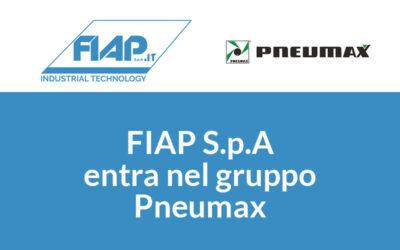 FIAP S.p.A entra nel gruppo Pneumax